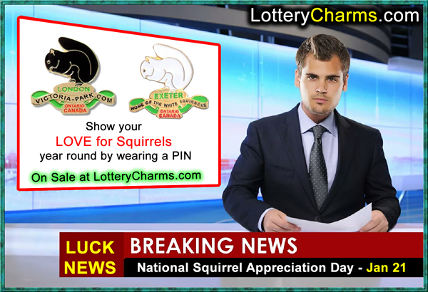 LOTTERY CHARM® LUCKY PINS on Sale
